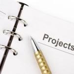 business concept, focus point on part of pen
